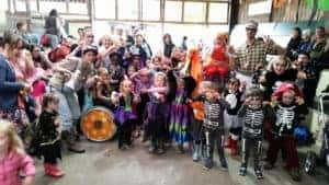 Halloween Half Term at Farmer Palmers Fancy Dress Competition
