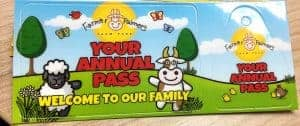 Annual Pass for Farmer Palmer's Farm Park Dorset