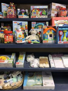 Baby Items in Farmer Palmer's Gift Shop